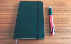 ノートを書くときの小さなルール(ノート術ミニ)